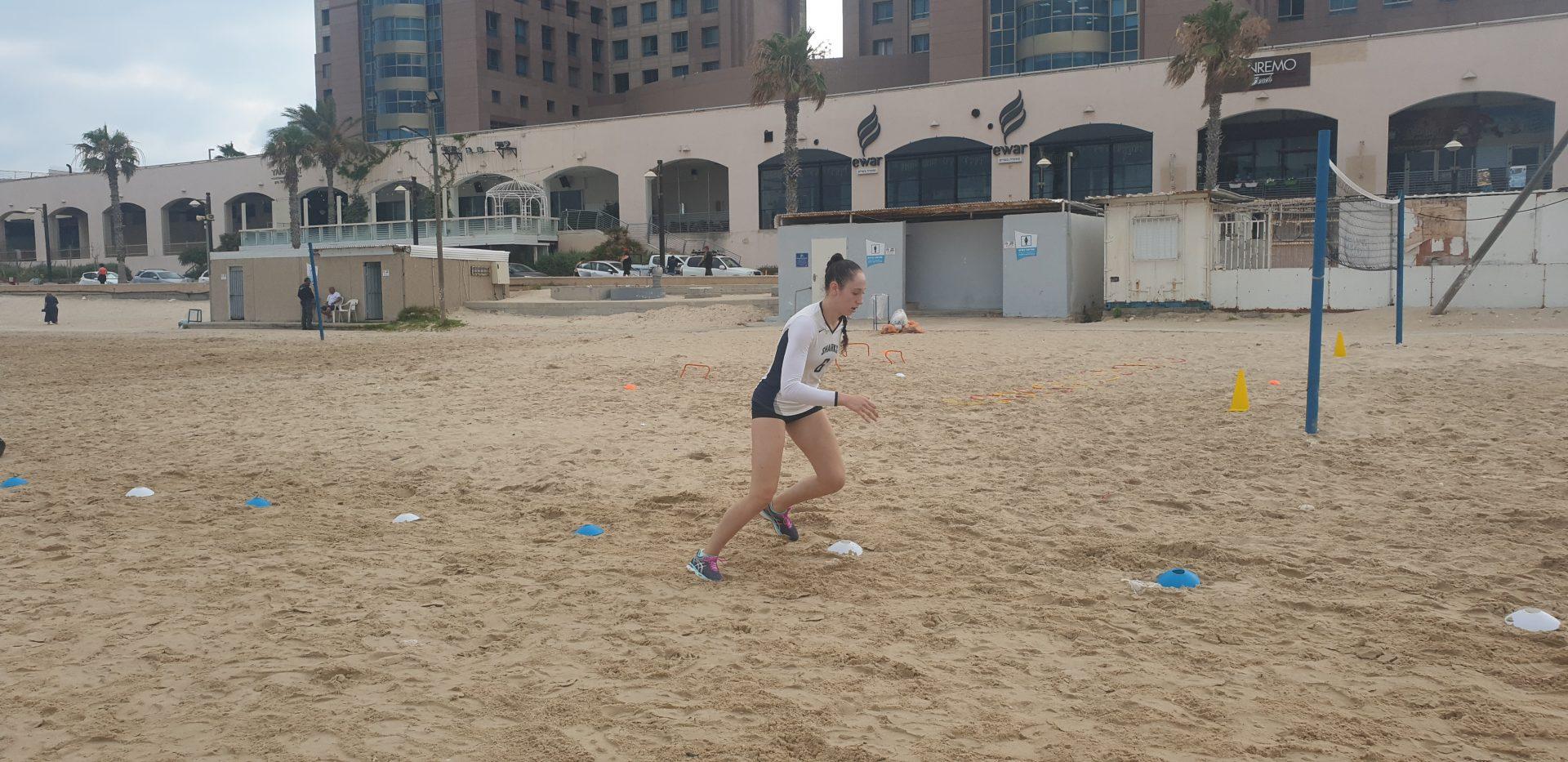 אימון חול ים